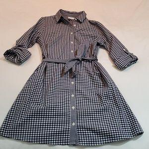 NWT Target Vineyard Vines Gingham Shirt Dress, XS
